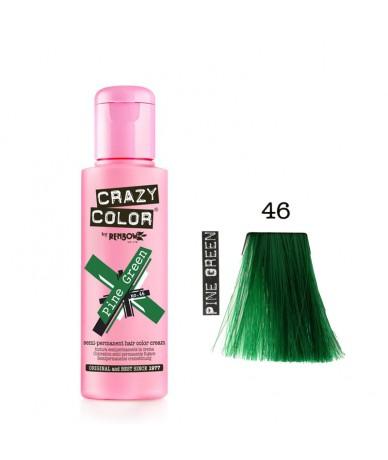 Crazy Color 46 Pine Green...