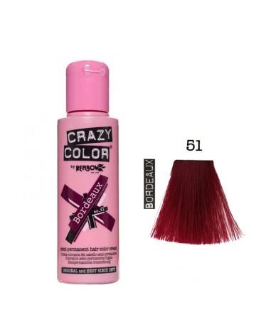 Crazy Color 51 Bordeaux 100 ml