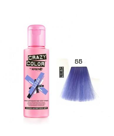 Crazy Color 55 Lilac 100 ml
