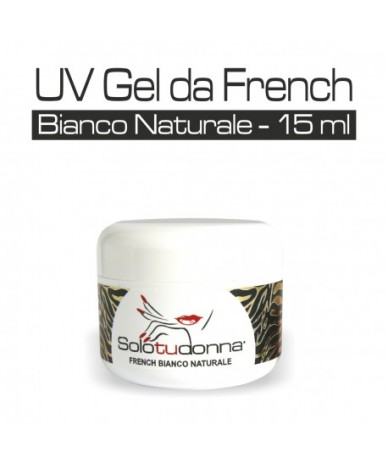 Gel French bianco naturale...