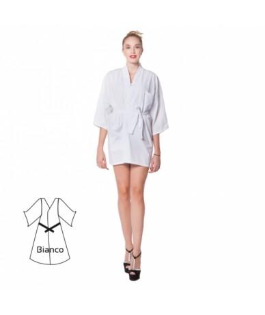 Kimono in cotone corto...