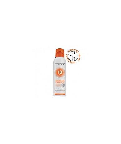 Latte solare spray SPF10...