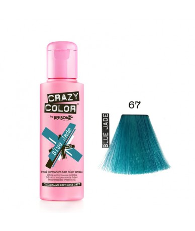 Crazy Color 67 Blue Jade...