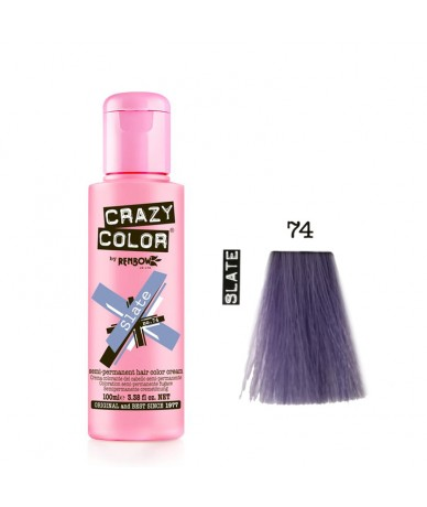 Crazy Color 74 Slate 100 ml