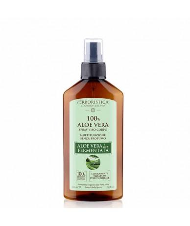 Spray viso corpo 100% Aloe...